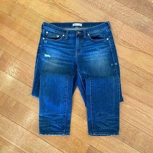Madewell boyfriend jeans size 27